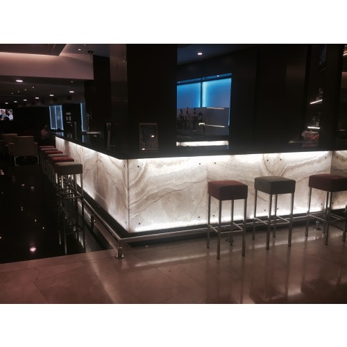 Cafe Pub Onyx marble project - Istanbul