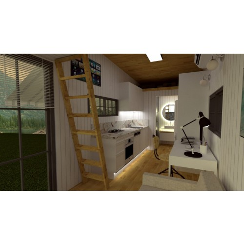 Tiny house project Type M- Interior design-2
