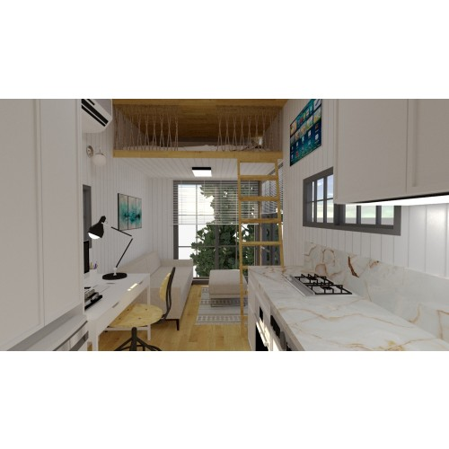 Tiny house project Type M- Interior design-5